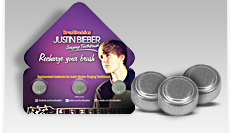 JB Singing Replacement Batteries